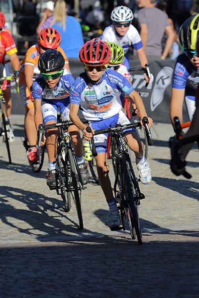 Corridori in azione ad Albese con Cassano (Foto Kia)