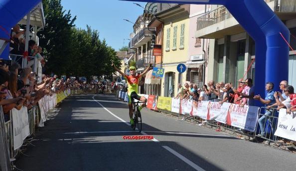 Raimondas Rumsas vince a Santa Maria della Versa (Foto cyclo@system)