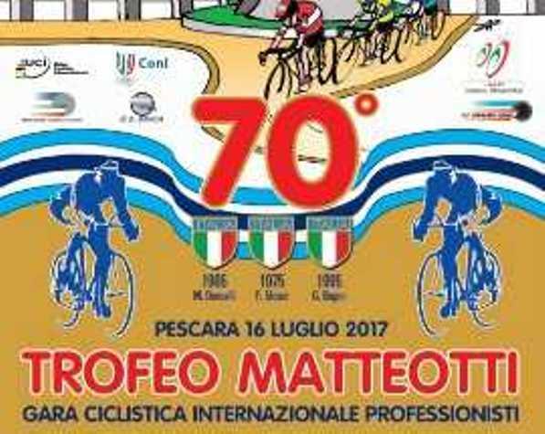 16.07.2017 - LOCANDINA 70^ TROFEO MATTEOTTI