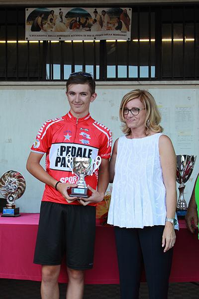 Premiazione Florian 3^ Classificato (Foto Kia)