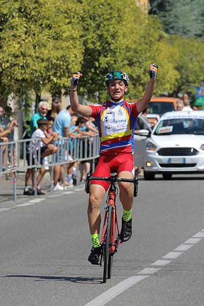 Alessandro Ceci vince a Birone di Giussano (Foto Kia)