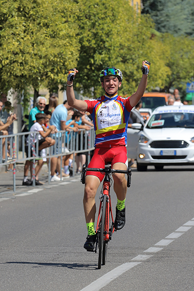 Esordienti 2° anno, Alessandro Ceci vincitore a Birone di Giussano (Foto Kia)