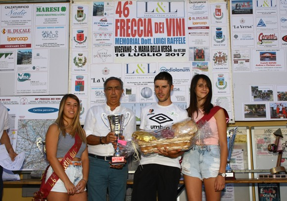 Premiazione di Umberto Marengo (Foto Berry)