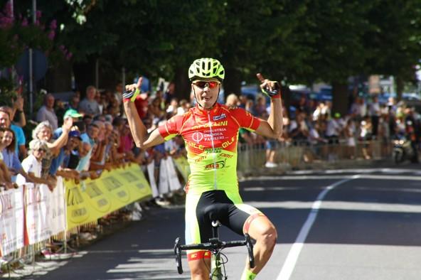 Raimondas Rumsas vince la 46^ Freccia dei Vini a Santa Maria La Versa (Foto Berry)