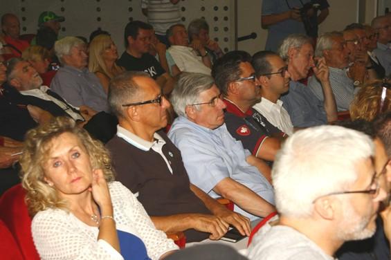 Valtorta presidente CP-FCI Monza, in sala (Foto Berry)