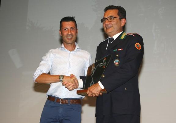 Premiazione Comandante Polizia Locale di Lissone (Foto Berry)