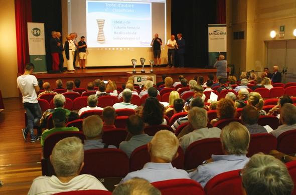 Un momento della presentazione (Foto Berry)