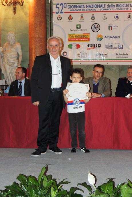 Frontini Luca con Franco Bettoni (Foto Kia)
