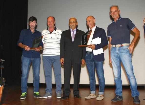 Premiazione Bugno e Saligari (Foto Berry)