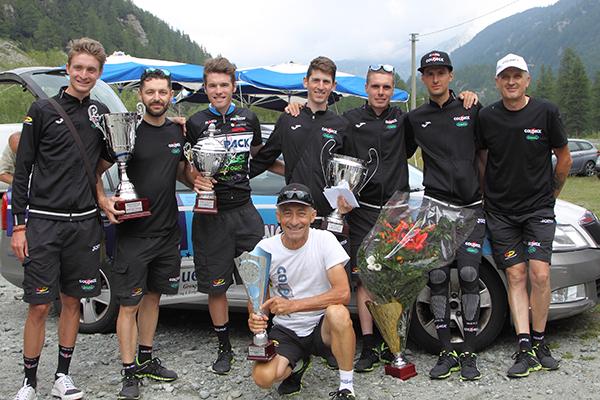 Team Colpack a Pian della Mussa (Foto Kia)