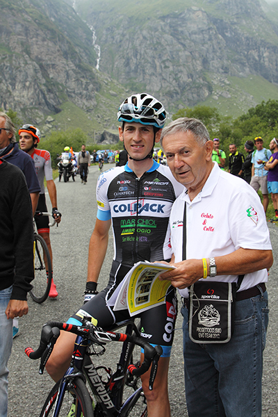 Bernardi intervista Garosio (Foto Kia)