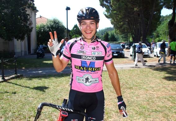 Sono 3 le vittorie di Trainini a tutt'oggi (Foto Berry)