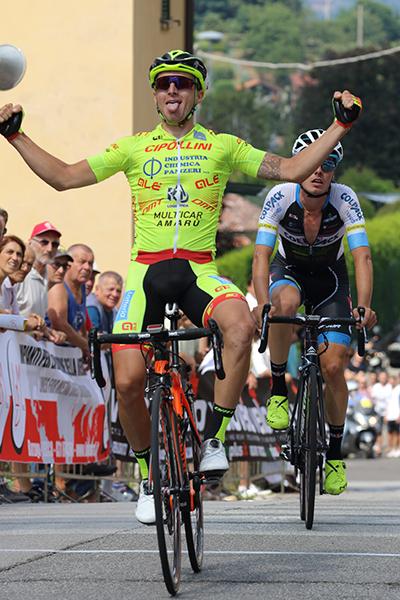 Francesco Romano vince a Barzago (Kia)