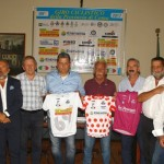 26.07.17 - Organizzatori e Sponsor presentano le 3 maglie del 69^ Giro prov Como (Berry)