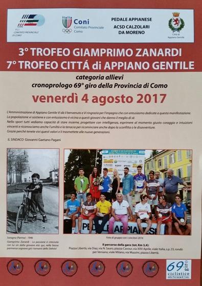 26.07.2017 - Locandina del cronoprologo