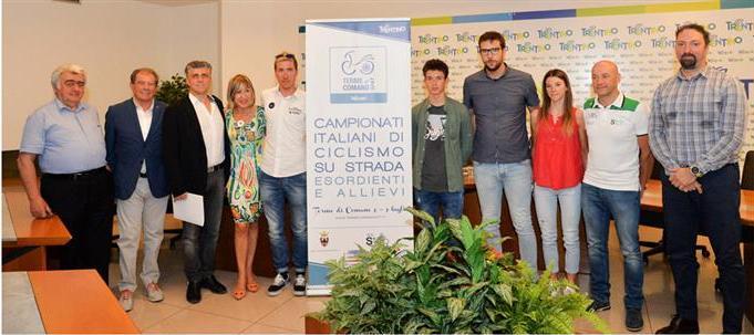 Presentazione dei Campionati Italiani Esordienti e Allievi, maschi e femmine (Foto Daniele Mosna)