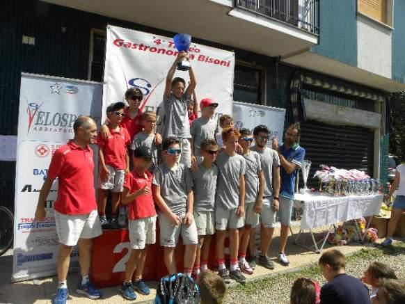 VS Abbiategrasso 2° Squadra classificata (Foto Nastasi)