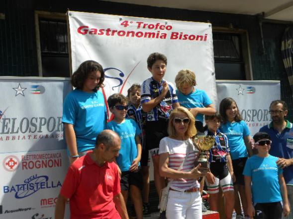 SC Busto Garolfo, 3^ società^ classificata (Foto Nastasi)