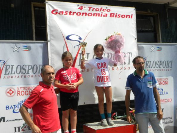 Antea Luisa Boldini sul podio (Foto Nastasi)