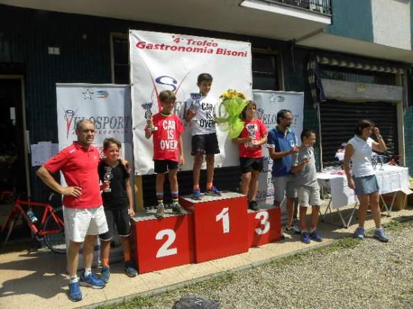 Alberto Bisoni, Andrea Noe^ e il Podio G4 (Foto Nastasi)