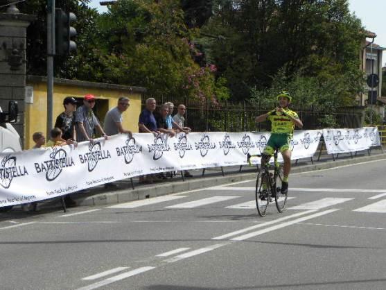 Juan David Sierra ennesima vittoria (Foto Nastasi)