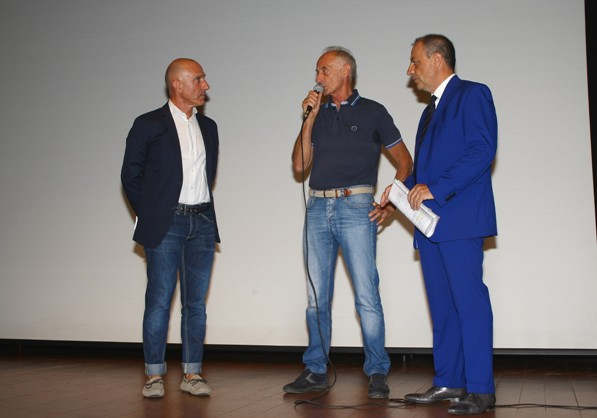 """Intervento Rivolta con Marco Saligari """"Il Commissario"""" (Foto Berry)"""