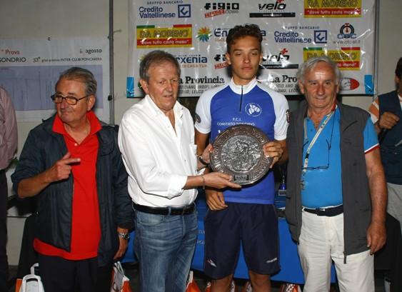 Nicola Bordoli, 4° class. e Camp Prov di Sondrio (Berry)