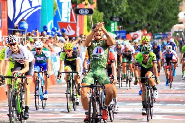 Bryan Alaphilippe vince la terza tappa de Volta a Portugal (Foto JC Faucher)
