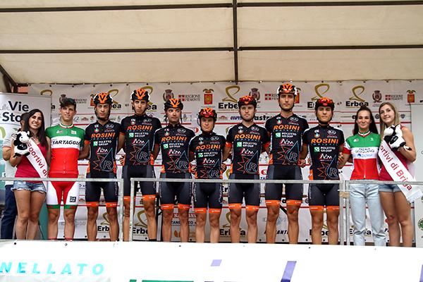 Futura Team Rosini, squadra del vincitore Zullo (Kia)