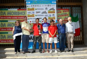premiazione Cicloteam Nembro (Foto Berry)