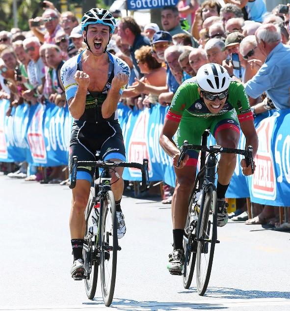 Leonardo Bonifazio vince la 71^ Firenze-Viareggio (Foto Rodella)