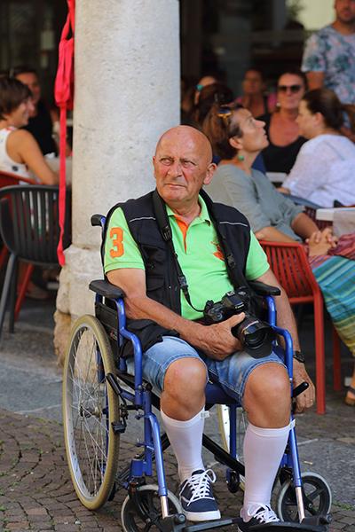 Gianfranco Soncini ovvero....il riposo del Guerriero! (Foto Kia)