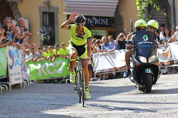 Stefano Taglietti 4^ classificato del Team LVF (Foto di Kia)