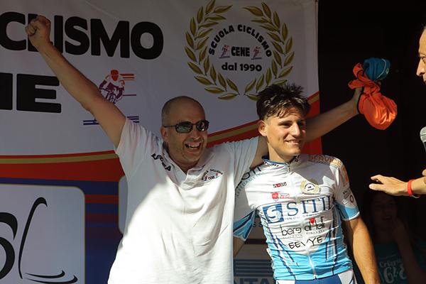 Rocco Imbruglia sul podio (Kia)