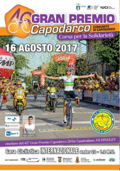 16.08.2017 - Locandina 46^ GP Capodarco