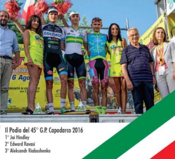 16.08.2017 - PODIO DEL 45^ GP CAPODARCO