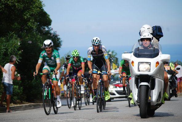 Fase di gara a Capodarco (Foto da diretta web)
