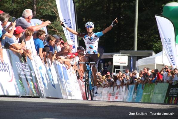 Vuillermoz vince la 2^ tappa del 50^ Tour du Limousin (Foto