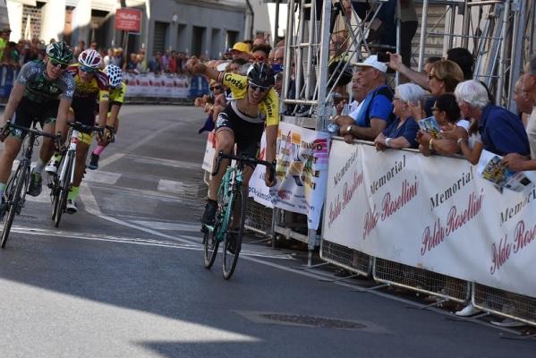 Filippo Zana vince la 56^ Coppa Linari (Foto Roberto Fruzzetti-ciclismo blog)