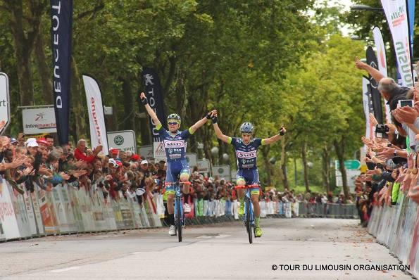 L'arrivo dell'ultima tappa del 50^ Tour du Limousin a Limoges