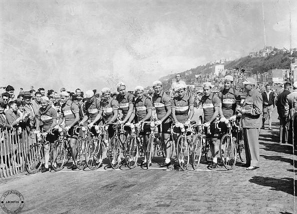 La Squadra Italiana al Tour de France del 1955