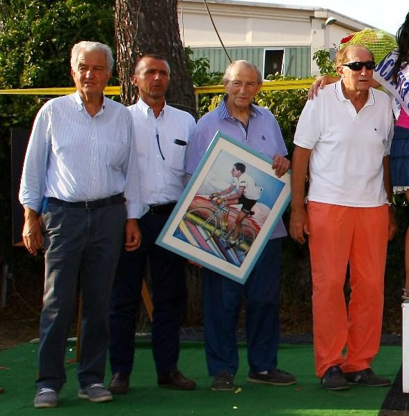 Guazzora, 19.08.2017, l'ultimo impegno ufficiale del Maestro Teresio Ferrari (Foto di Berry)