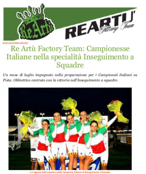 22.08.2017 - RE ARTU - TRICOLORE