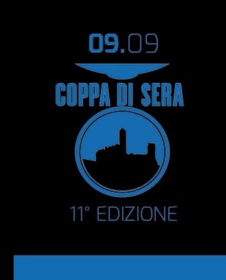 23.08.2017 - Logo 11^ Coppa di Sera Esord 1^ anno