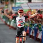 Matej Mohoric vince la 7^ tappa del Giro di Spagna
