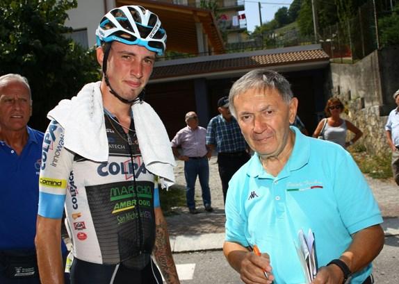 Vito Bernardi intervista il vincitore Filippo Zaccanti (Berry)