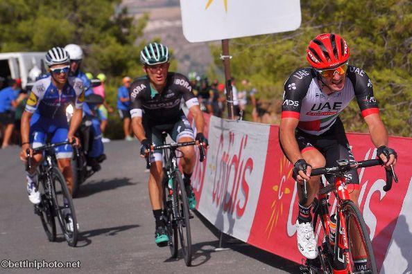 Vuelta Espana 2017 - Polanc si piazza nell'8^ Tappa (Foto Bettini)