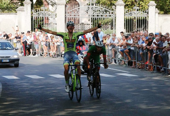 Francesco Messieri prima vittoria dopo 5 anni di digiuno (Foto Pisoni)