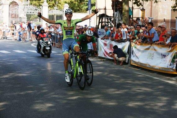 Francesco Messieri vince a Castelnuovo Scrivio (Foto Pisoni)