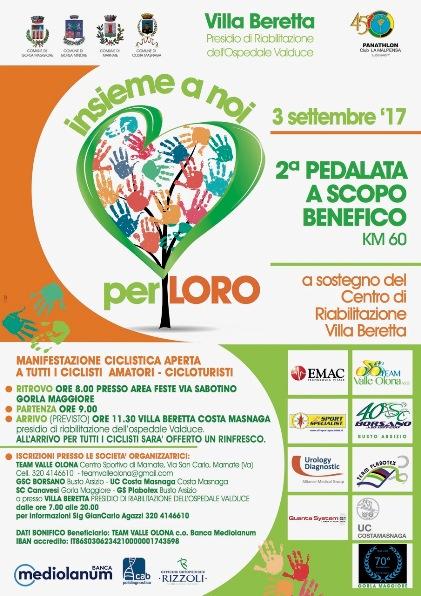 Manifesto Villa Beretta 2017